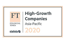 AsiaPay has entered into the ranking of the High-Growth Companies of Asia Pacific 2020 by Finance Times.