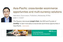 AsiaPay CEO Mr. Joseph Chan is interviewed by The Paypers.