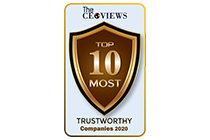 AsiaPay is pleased to be recognized being one of the Top 10 Most Trustworthy Companies 2020 by The CEO Views.