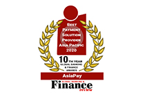Global Banking & Finance Review Names AsiaPay Best Payment Solutions Provider Asia Pacific 2020.