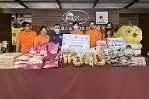 Corporate Social Responsibility - Donation to Baannokkamin Foundation in Thailand.