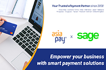 AsiaPay partnered with Sage.