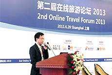 AsiaPay joined 2nd Online Travel Forum 2013, Joseph Chan