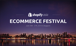 AsiaPay joined Shopify Asia's Ecommerce Festival 2014