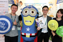 AsiaPay joined Expat Show Shanghai to help online sellers collect money from the expats in China.
