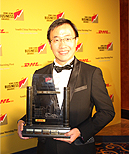 AsiaPay wins HK Business Award 2011, Joseph Chan